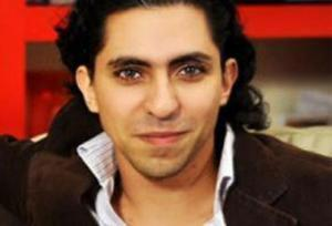 Raif Badawi, jailed for 10 years in Saudi Arabia for running a website advocating greater freedoms