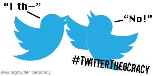 Twitter Theocracy