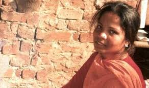 "Asia Bibi, before her long incarceration for ""blasphemy"" began in 2010"