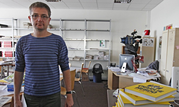 "Stéphane ""Charb"" Charbonnier, publisher of Charlie Hebdo, has been named among those killed today"