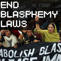 The End Blasphemy Laws Campaign begins today