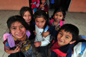 Guatemalan school children pictured on the AGHS Indiegogo fundraising campaign