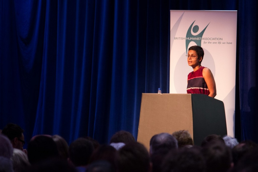 Bonya Ahmed delivers the 2015 BHA Voltaire Lecture in the UK, 2 July 2015