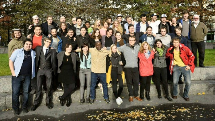 Members of Young Humanists International at a General Assembly in Europe