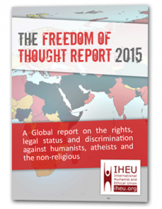 The latest Freedom of Thought Report by the IHEU