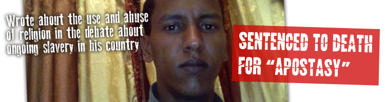The case of Mohamed Cheikh Ould M'kheitir features in the IHEU Freedom of Thought Report