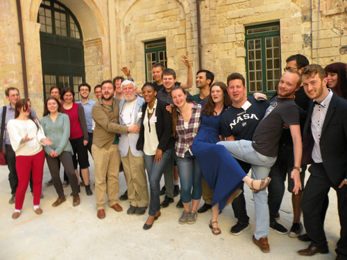 Young humanists celebrate in Malta