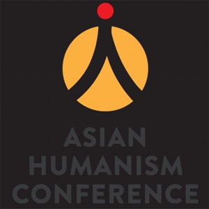 The logo for the Asian Humanism Conference 2016 was designed to reflect the Chinese character for humans (人). It is hoped that it will become a new symbol of humanism as it spreads into the Chinese speaking world!