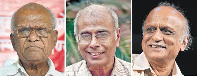 Govind Pansare, Narendra Dabholkar, and MM Kalburgi