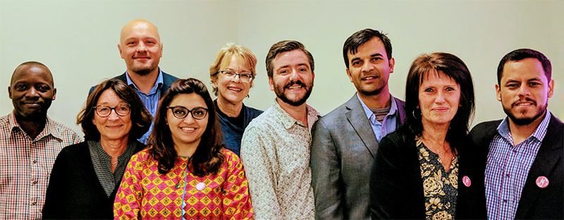 The IHEU Board elected in August 2018