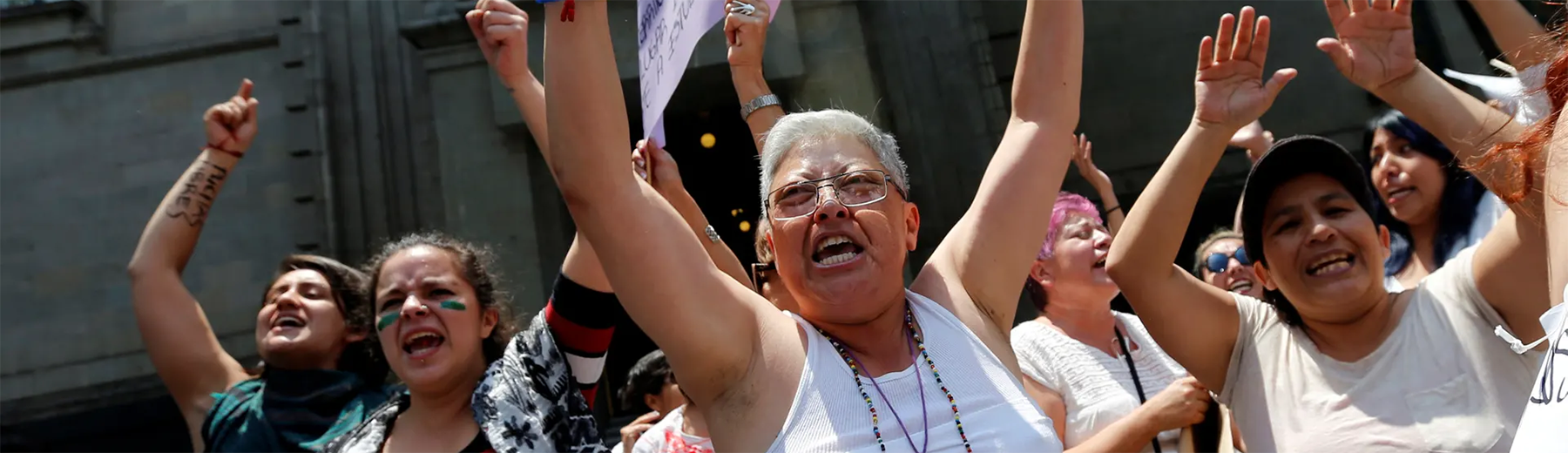 """Abortion rights activists protest in Mexico City, where abortion is decriminalised. However, abortion is illegal in much of the country."" (Photo: Henry Romero / Reuters/Reuters)"