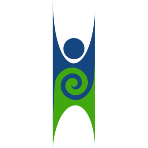 The logo of Humanist NZ based on the Happy Human symbol of Humanism