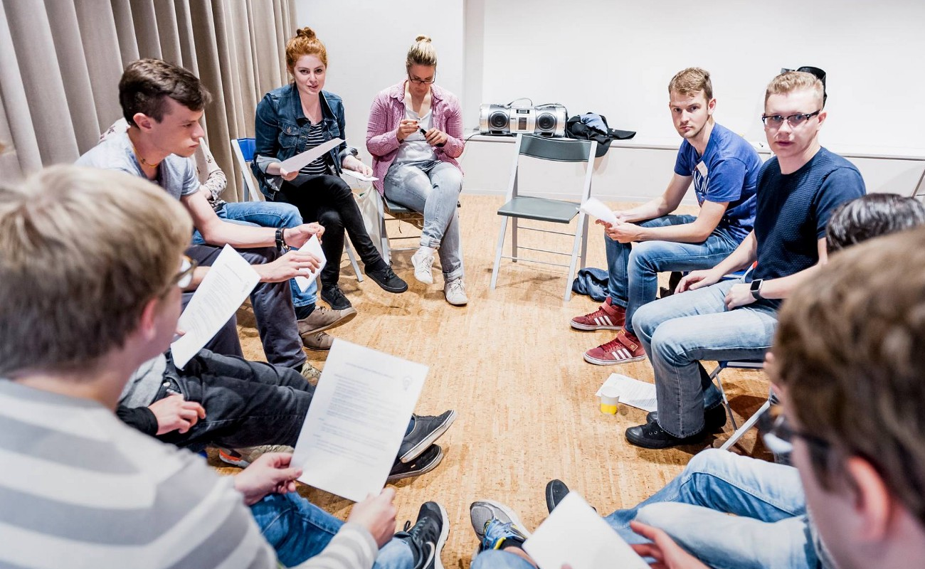 A discussion workshop at the European Humanist Youth Days (2016)