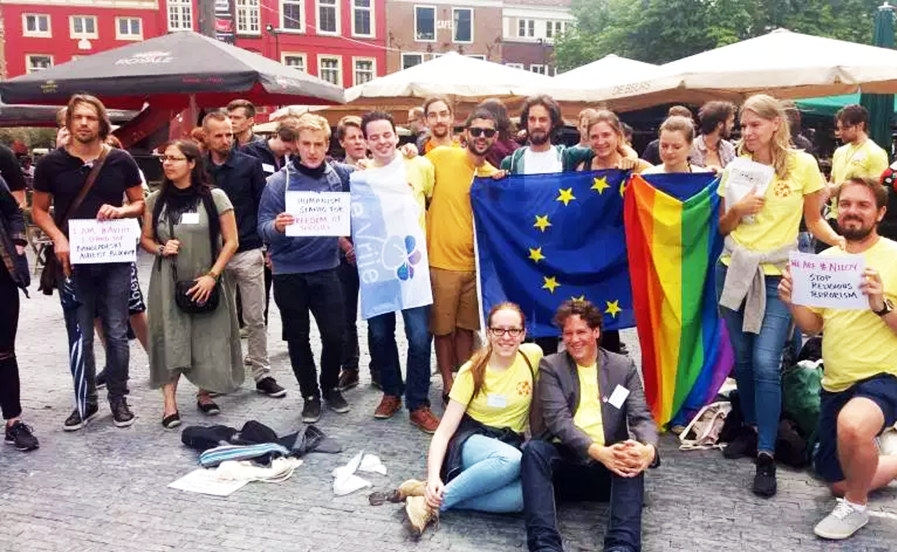 Taking it to the streets! Young humanists at European Humanist Youth Days 2016