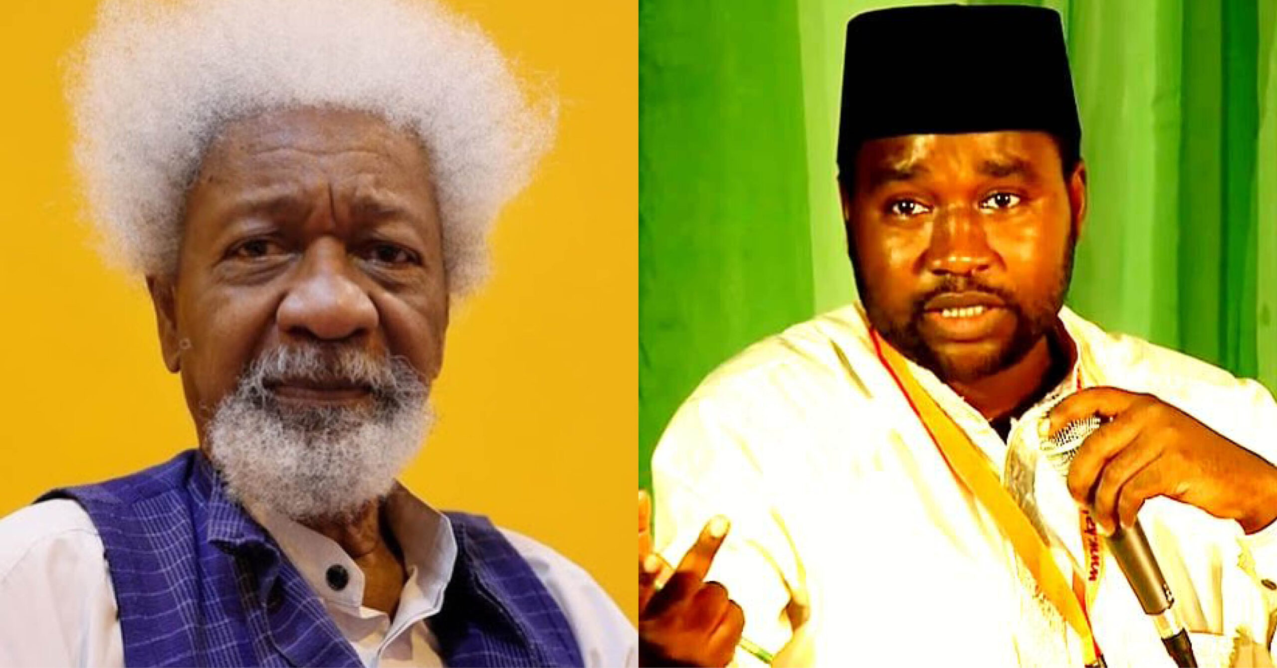 Nobel Laureate, Wole Soyinka, sends message of solidarity to Mubarak Bala, detained for 100 days